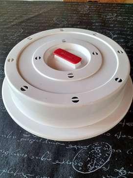 Cubre plato para microondas