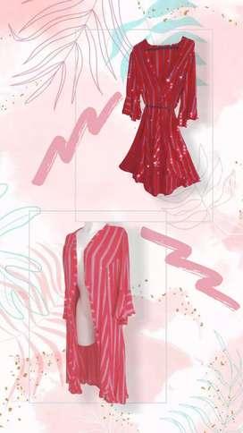 Kimono sobre todo lardo con bolero puedes usarlo como vestido