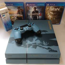 PlayStation 4 (edición limitada, 1 tera)