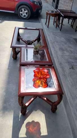 Juego de 3 mesas Vintage!!