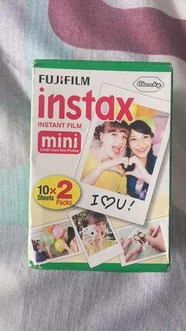 Instax Mini Cartucho de Fotos Polaroid