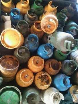 vendo garrafas cargadas de 10 kg