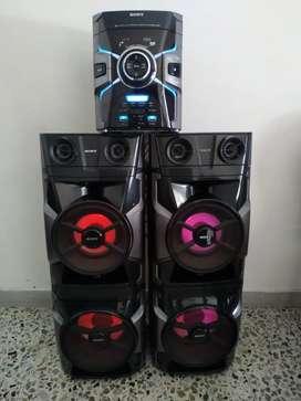 Ganga espectacular equipo de sonido sony