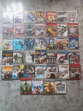 Juegos Ps3 Cada Uno a 20 Mil