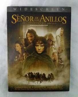El señor de los anillos la comunidad del anillo dvd doble original