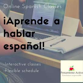 LEARN SPANISH ON LINE