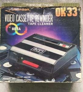 Rebobinador de cassettes Jhonson OK-33