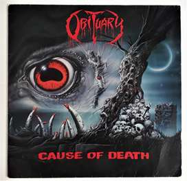 Obituary Cause Of Death First Press 1990 Roadrunner