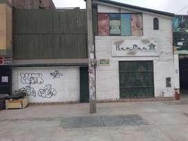 ALQUILER DE LOCAL COMERCIAL DOS PISOS EN PLENA AVENIDA HUANDOY