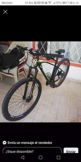Vendo o permuto por moto bicicleta marca On-trail
