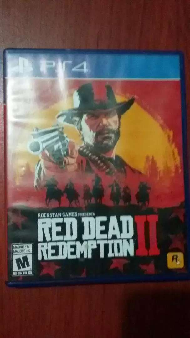 Red Dead Redemption 2 Ps4 negociable 0