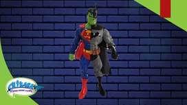 Figuras DC BATMAN JOKER SUPERMAN
