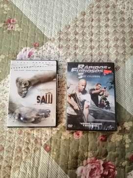 2 peliculas nuevas en dvd originales.