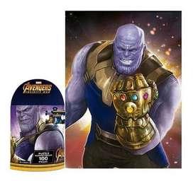 Rompecabezas Avengers Thanos 100 Piezas