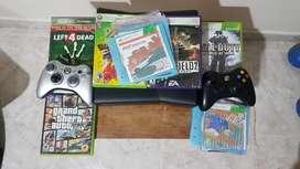 Xbox 360 slim negro