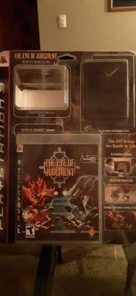 Ps3 vendo juegos + camara + cajas para cartas the eye of judgment