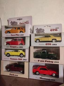 Vendo colección de carros del tiempo