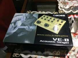 Pedal boss ve8 acoustic singer