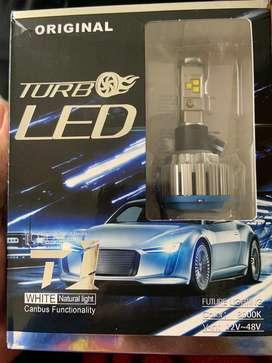 Combo de luces Led para automovil.