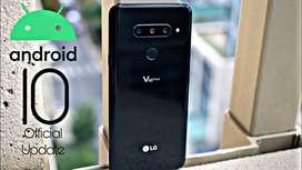 Increible! Actualizacion Android 10 LG G7,v35,v40,g8,g8s,g8x,v50,v50s,K50s,K40S,K50,Q60,G7 ONE