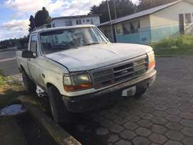 Vendo camioneta ford año 1992