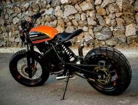Fabricación de timones de moto y modificaciones