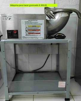 Máquina para hacer granizado