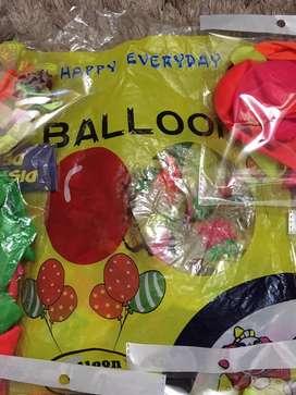 Paquete de globos feliz cumple