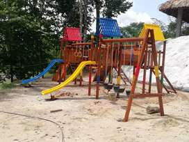 Parques infantiles.
