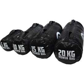 Kit Mancuernas INDUSTRY BAG Pesas Gym de 50 KG Sandbag Corebag Peso Ajustable