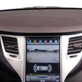 Pantalla tipo Tesla Android Original de Hyundai Tucson
