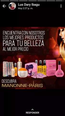 Venta de productos capilares de mannone  paris