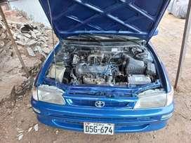 Toyota corolla 97 gnv y gasolina