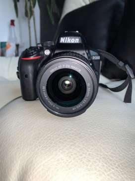 Camara Nikon D5300 como nueva, unico dueño