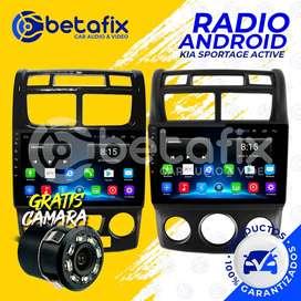 RADIO ANDROID KIA SPORTAGE ACTIVE 2005/11 GPS BT USB WIFI BETAFIX DESDE