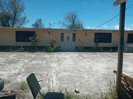 Terreno y casa en venta