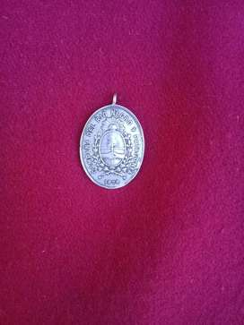 antigua medalla campaña del rio negro y patagonia 1878