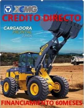 CARGADORA FRONTAL MARCA XCMG-MODELO ZL50GN, CREDITO DIRECTO, FINANCIAMIENO, FACILIDADES DE PAGO