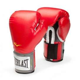 GUANTES DE BOXEO EVERLAST PRO STYLE TRAINING GLOVES RED 14 OZ