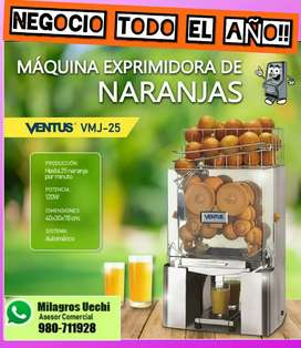 Exprimidor de naranjas uso comercial