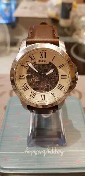Reloj Fossil Automático Original, New Edición Limitada, Resistente al agua 5ATM, Chronograph Taquímetro Acero Inoxidable