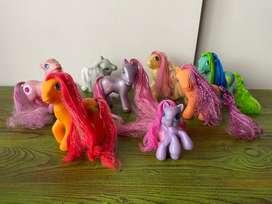 Lote de mi pequeño pony original my little pony
