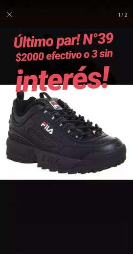 Zapatillas nuevas Filas