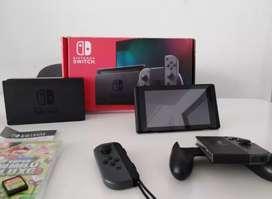 Nintendo Switch 2019 Nueva Y Completa