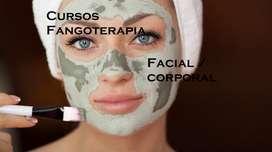 Cursos Fangoterapia.  Facial / Corporal. Personalizados.