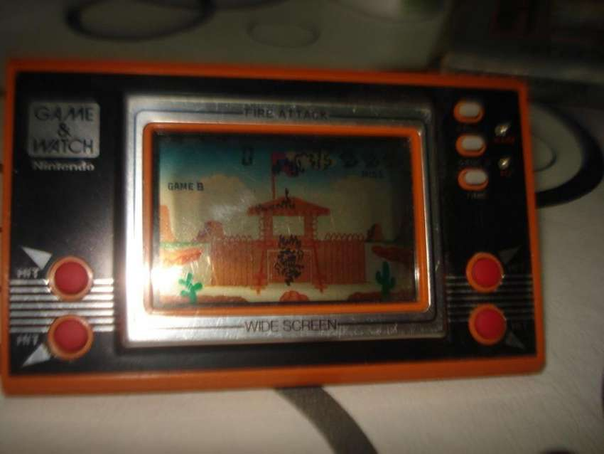 Game Watch Nintendo Fire Attack En Caja Funcionando Excel. 0