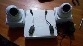 Combo cámaras de seguridad