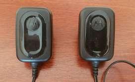 Cargadores x2 Motorola original. USB MINI 5 pines