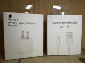 Usado, Combo Cargador y Cable Orig Apple Iphone Iphone X 8 8 Plus Obelisco segunda mano  San Nicolás, Capital Federal