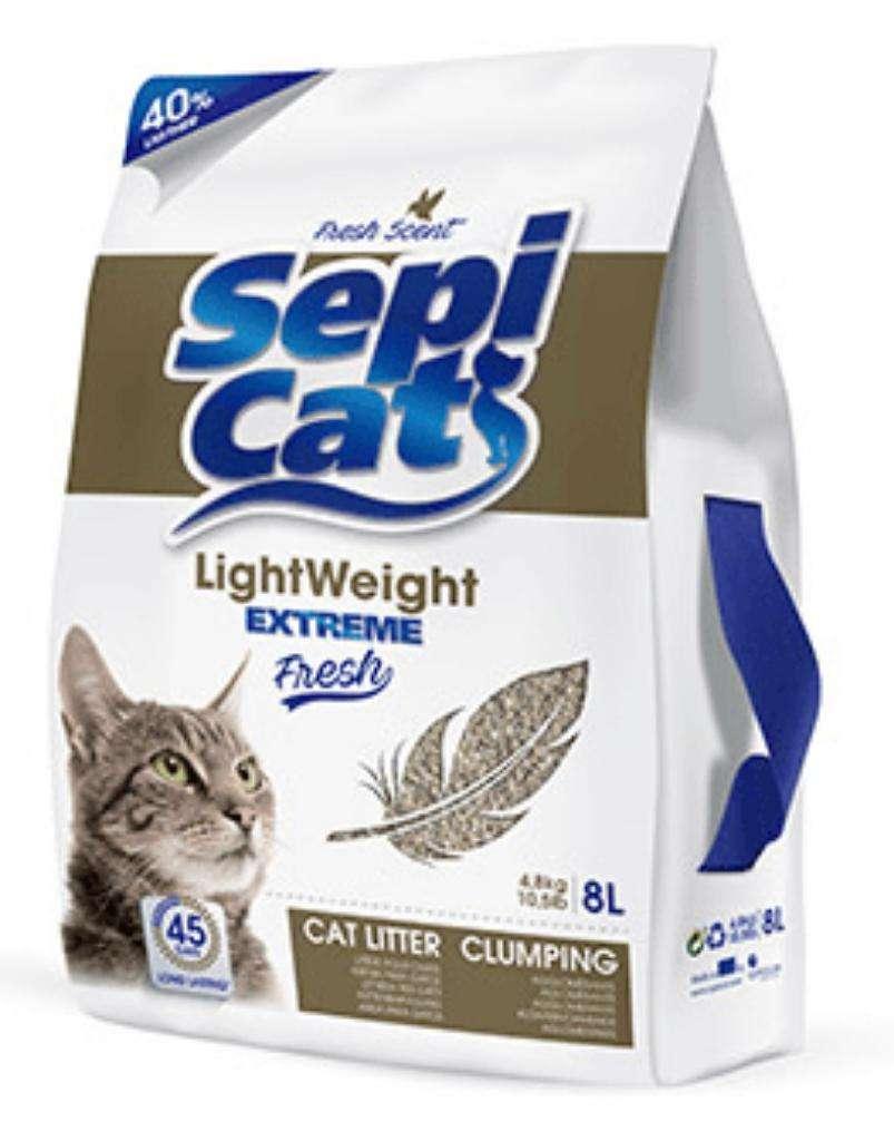 Arena para Gatos Sepicat Lightweight 8lb 0